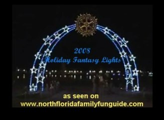 Holiday Fantasy Lights - New Town Center, Palm Coast, Florida