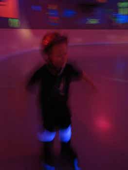 Roller Skating at Skate N Shake