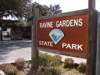 Ravine Gardens, Palatka, Trails, Azaleas