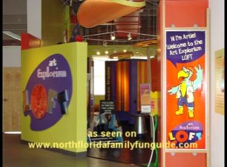 Art Explorium Loft at the Museum of Contemporary Art - Jacksonville, Florida