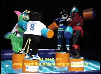 Celebrity Mascot Games 2009! Orlando, Florida