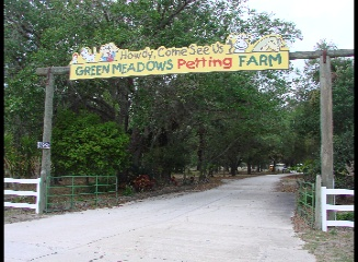 Green Meadows petting Farm, kissimmee