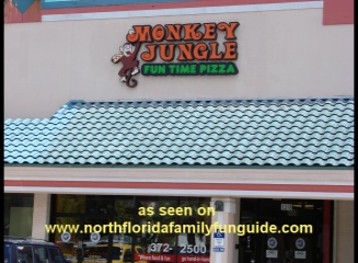 Monkey Jungle Funtime Pizza - Jacksonville, Florida