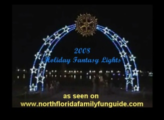 Holiday Fantasy Lights - New Town Center, Palm Coast, Florida