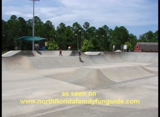Robert-Laryn Skatepark, within Treaty Park - St. Augustine, Florida