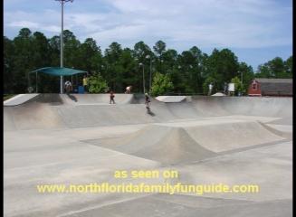 Robert-Laryn Skatepark, within Treaty Park - St. Augustine, Florida