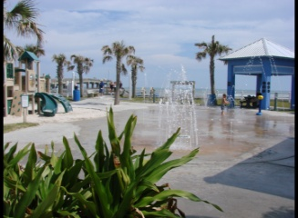 Splash Park at the pier, St. Augustine , Florida