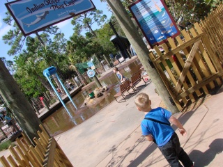 Splash Park at the Brevard Zoo
