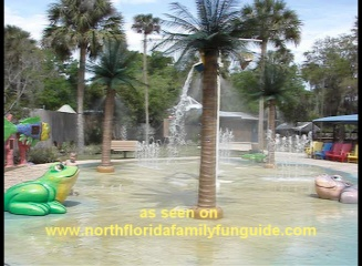 Splash Park at the Central Florida Zoo