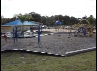 Trailblazer Park, Sanford, Splash Park, playground, picnic tables