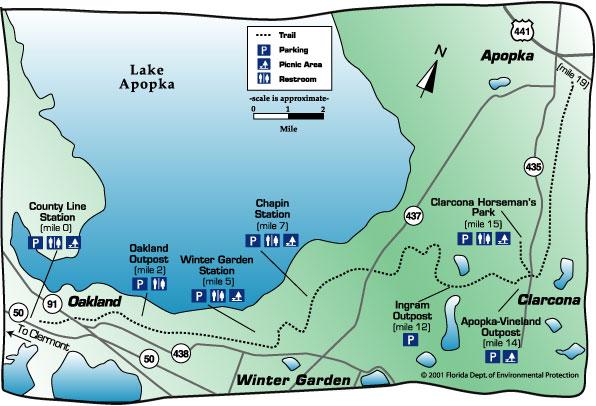 West Orange Trail - Winter Garden, Florida