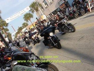 Bike Week, Daytona Beach, Main Street, motorcycles