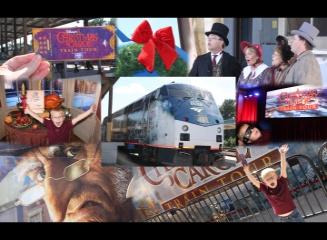 Christmas Carol Train Tour - Jacksonville Amtrack - Jacksonville, Florida