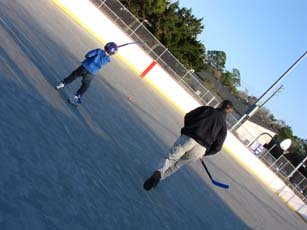 Flagler County Youth Center roller hockey arena