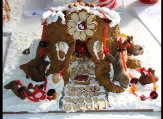Mr. Squirrel's Holiday Nut House - 1st Place Winner