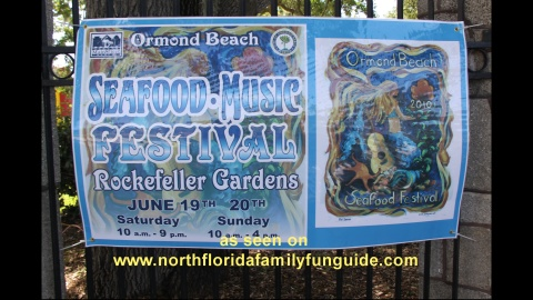 Ormond Beach Seafood Festival - Ormond Beach, Florida