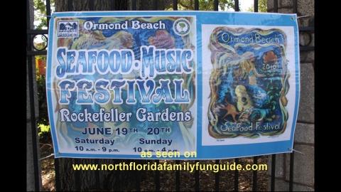 Ormond Beach Seafood Festival - Ormond Beach, Florida
