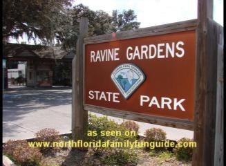 ravine gardens, palatka, azalea, hiking, picnic