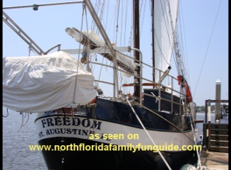 Schooner Freedom Sailing Charters - St. Augustine, Florida