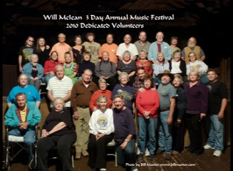 2010 Dedicated Volunteers - photo by Bill Marder